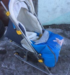 Санки коляска
