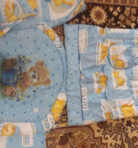 Бортики,балдахин+держатель,одеяло