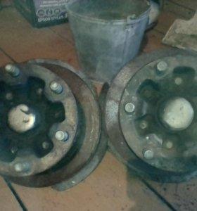 Ступицы и диски тормозные