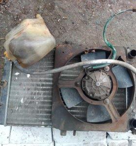 Радиатор с расширительным бачком