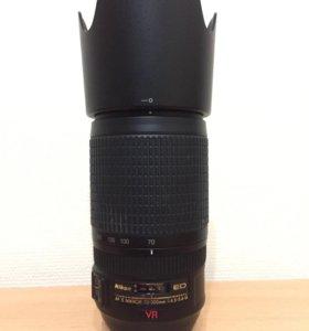 Объектив Nikon 70-300 vr 4,5-5,6
