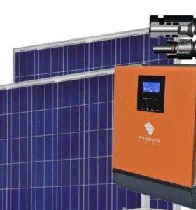 Автономная Солнечная Электростанция 1600 Вт