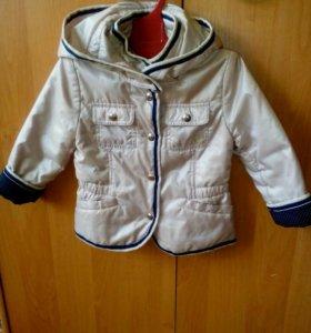 Лёгкая куртка для девочки