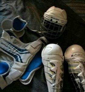 Хоккейная защита 6-8 лет