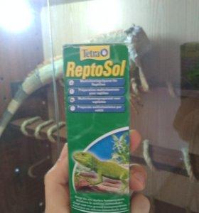 Витамины для всех видов рептилий ReptoSol Рептосол