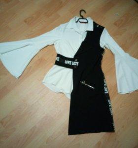 Блуза костюм