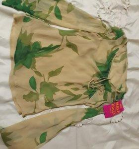 Новая женская легкая блузка NEXT