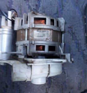 Двигатель для стиральной машины ,подача воздуха