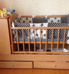 Детская кроватка продам!