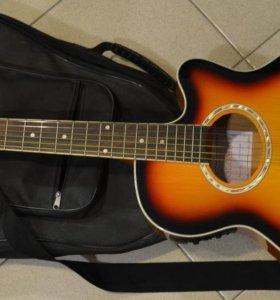 Электроакустическая гитара Colombo LF-401CEQN