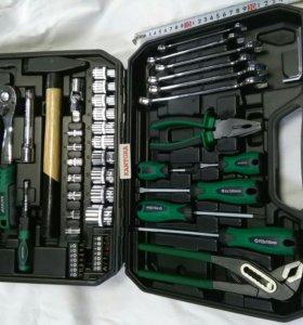 А4 Набор инструментов в чемодане 56 предметов