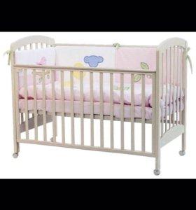 Кроватка+матрас❗️Состояние новой 6500❗️❗️❗️