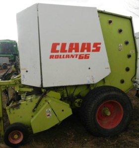 Пресс подборщик рулонный Claas 66