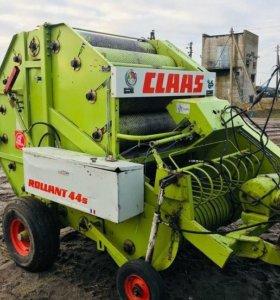 Пресс- подборщик рулонный Claas Rollant 44 б/у