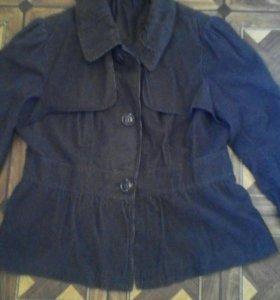 Велюровый пиджак,52
