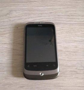 Телефон HTC wildfire