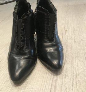 Туфли осенние натуральная кожа
