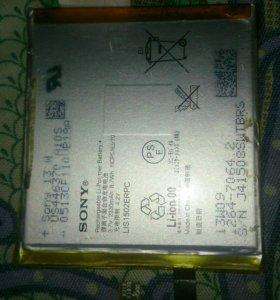 Аккумулятор Sony experia z с6603