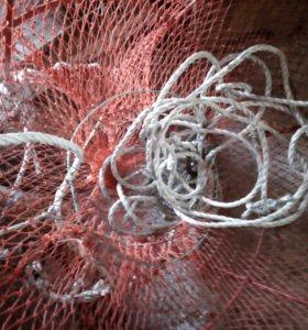 Сетки для ловли криветки и рыбы