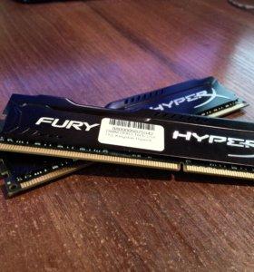 Оперативная пам. DDR3 - 2x 8Гб(16) 1866, DIMM, Ret