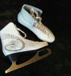 Фигурные коньки - Princess Lux ( Leather 100% )