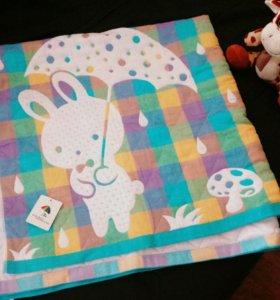 Мимишное детское одеяло ( новое)