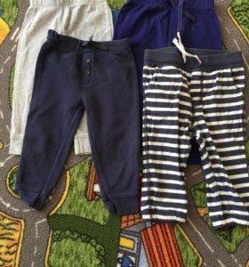 Домашние штанишки на 12-18 месяцев
