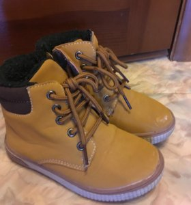 Ботинки осенние, 27р (17,8 см стопа)