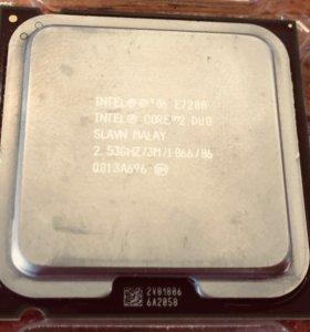 Intel core 2 duo E7200 2.53Ghz