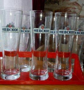 Новые наборы пивных бокалов.