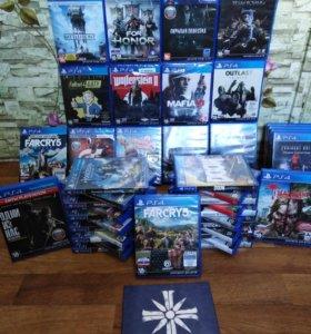 Sony PlayStation 4 PS4 Игры. Продажа/Обмен