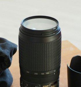 AF-S Nikkor 70-300mm 1:4.5-5.6G VR IF SWM