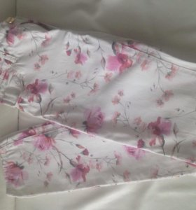 Лёгкие цветочные брюки Calliope