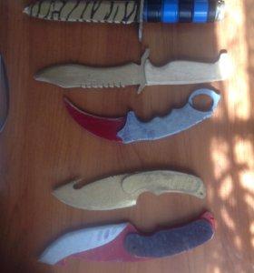 Ножы из дерева для детей
