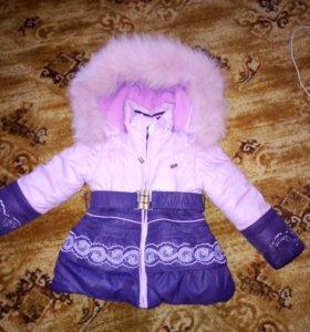 Детский зимней камбенезон