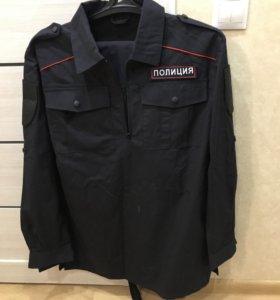 Полевка полиция новая размер 52 брюки +плащ