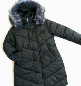 Зимнее пальто в отл.сост(52-54)