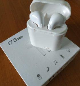 Беспроводные Bluetooth наушники Airpods i7S TWS