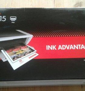 Струйный принтер HP 1015