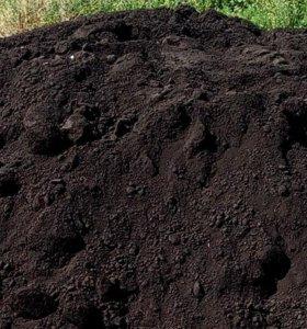 торф, навоз, чернозем, плодородный грунт