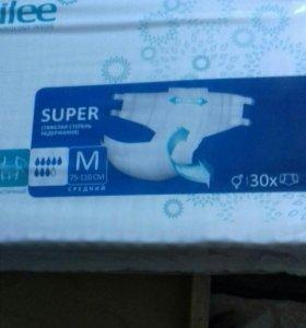 Памперсы размер М