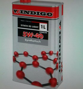 Windigo Synth RS 5w40 light