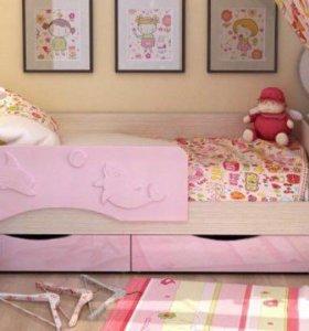 Кроватка детская дельфин