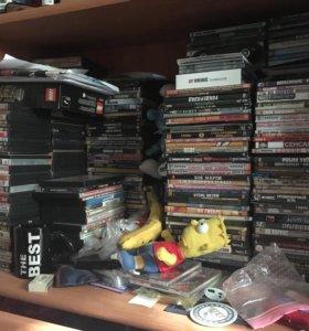 Коллекция кино на dvd, 300 дисков