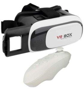 Виртуальные очки для смартфона+пульт управления