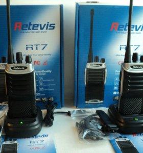 Новая радиостанция retevis RT7 (комплект)