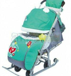 Санки-коляска Ника детям 7-2.