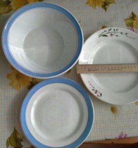 Фарфоровая посуда ссср