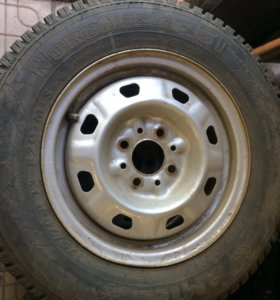 Комплект зимних колёс на ваз р13