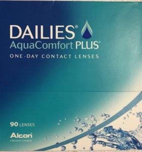 Одноразовые линзы Dailies AquaComfort Plus 90 шт.